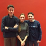 Ghislaine, Kees en Milad